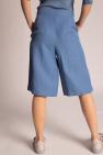 Salvatore Ferragamo Shorts with decorative stitching