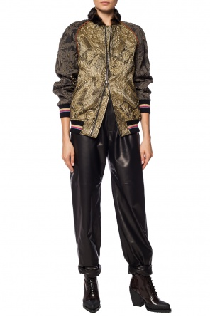 Leather trousers od Etro