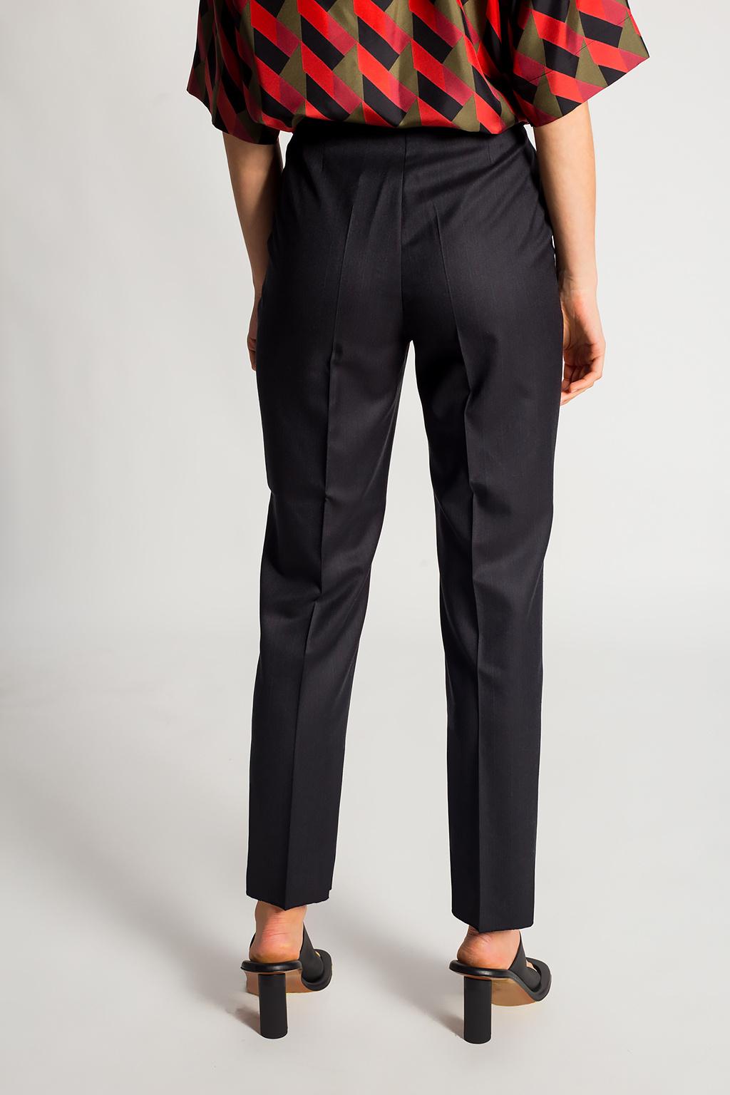 Salvatore Ferragamo Pinstriped trousers
