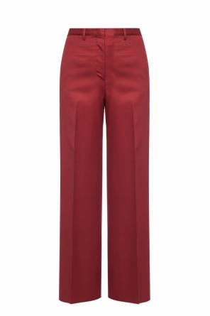 Wool creased trousers od Salvatore Ferragamo
