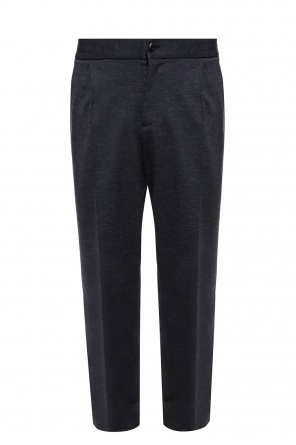 Branded loose-fitting trousers od Salvatore Ferragamo