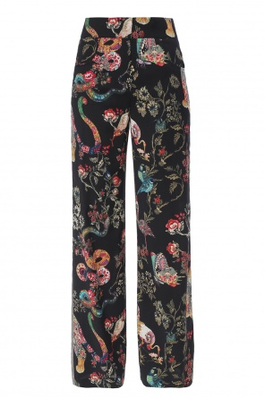 Printed trousers od Etro