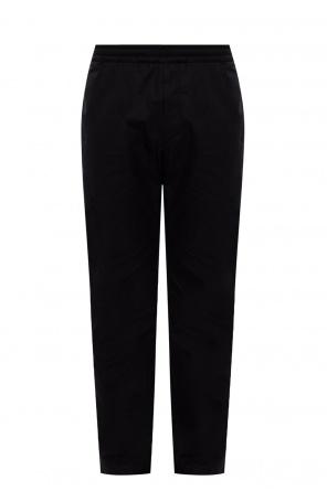 Spodnie z prostymi nogawkami od The Row