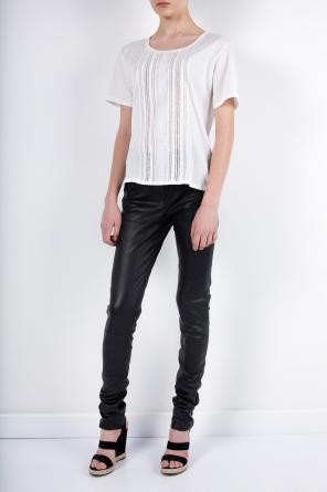 Leather trousers od Ann Demeulemeester