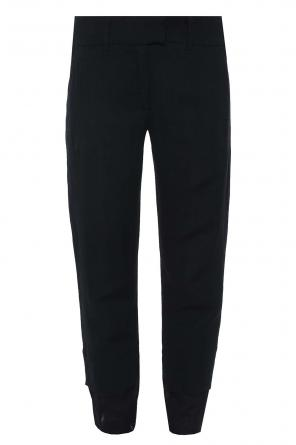 Trousers with frayed cuffs od Ann Demeulemeester