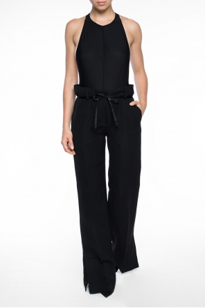 Trousers with wide legs od Ann Demeulemeester