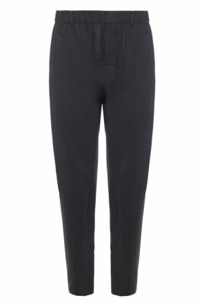Dropped crotch trousers od Ann Demeulemeester