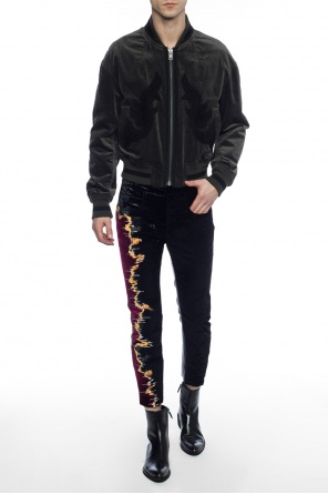 Patchwork trousers od Haider Ackermann