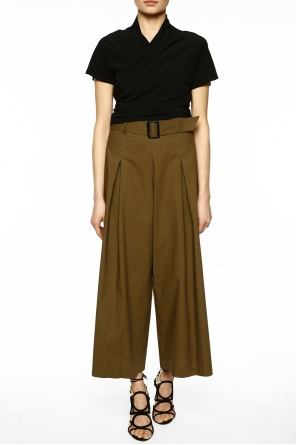 Wide leg trousers od Etro