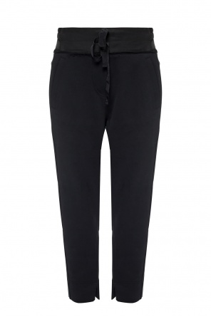 Sweatpants with cut-out details od Ann Demeulemeester