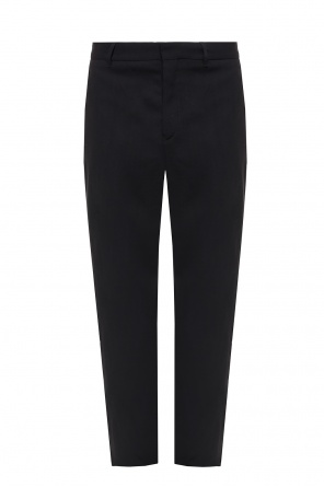 Pleat-front wool trousers od Ann Demeulemeester