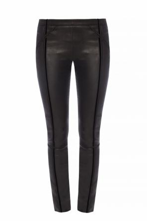Leather pants with bands od Haider Ackermann