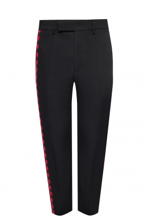 Wool pleat-front trousers od Haider Ackermann
