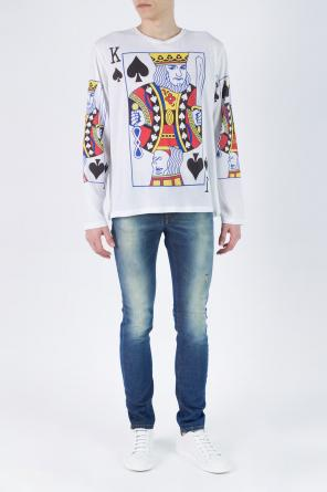 Distressed jeans od Etro