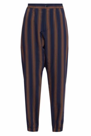 Elasticated cuff trousers od Etro
