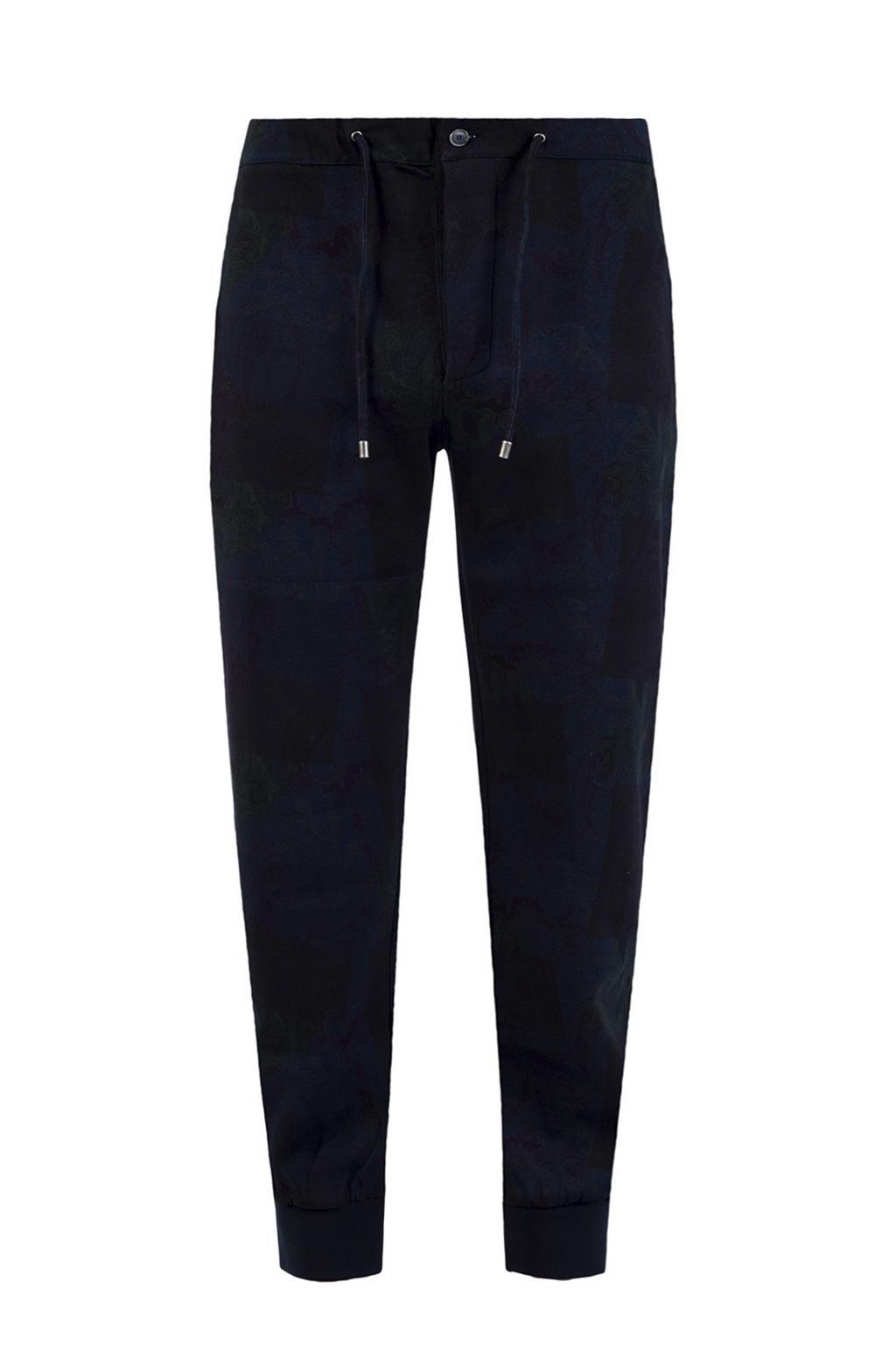 Etro Paisley pattern sweatpants
