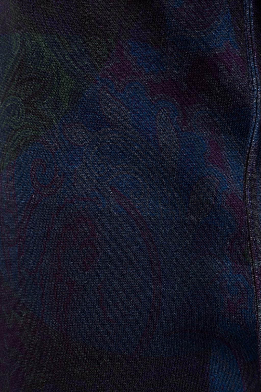 Etro Paisley pattern sweatpants