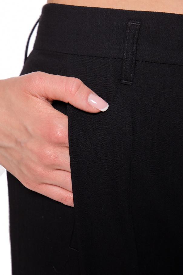 Ann Demeulemeester Spodnie z wysokim stanem 57pht7mP