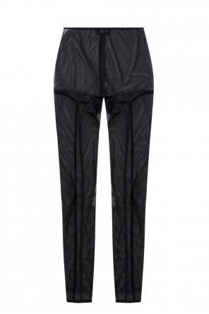 Leggings with decorative seams od Ann Demeulemeester
