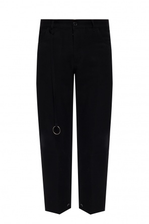 Top-stitched trousers od Ann Demeulemeester