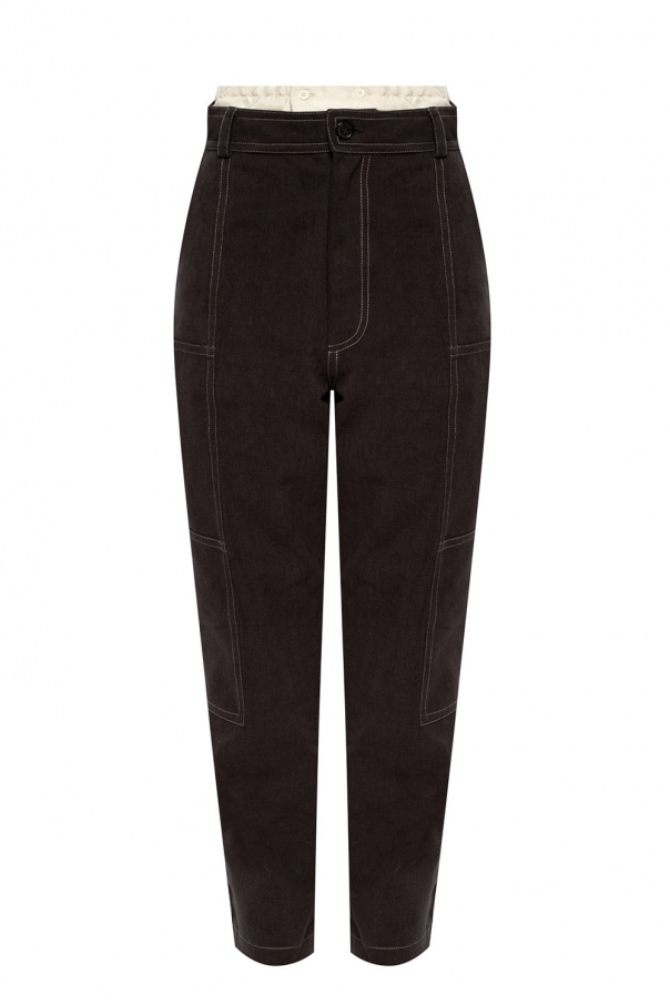 Jacquemus 'Felix' trousers with logo