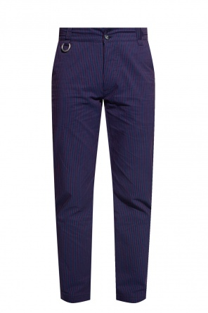 Pinstriped trousers od Vivienne Westwood