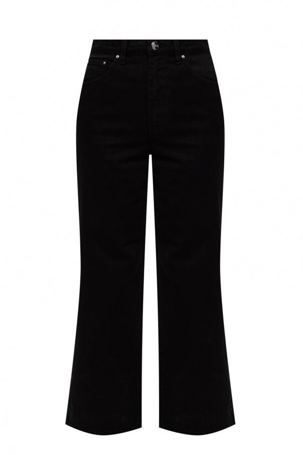 Toteme Jeansy z szerokimi nogawkami