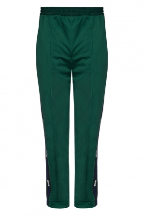 Logo side-stripe trousers od MSGM