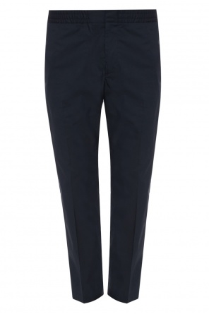 Pleat-front trousers od MSGM