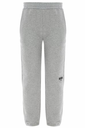 Logo-embroidered sweatpants od MSGM