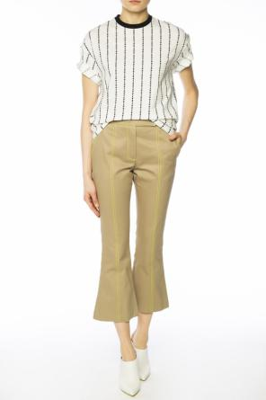 Trousers with stitching od MSGM