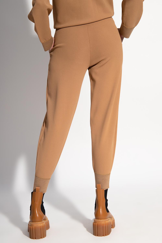 Stella McCartney Spodnie z wiskozy