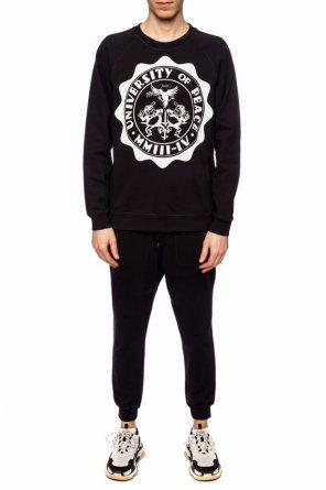 Spodnie dresowe z naszywką z logo od Vivienne Westwood