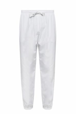Sweatpants with logo od MSGM