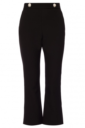 Trousers with decorative buttons od MSGM