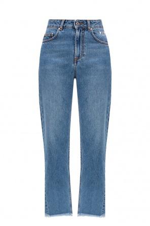 Jeans with logo od MSGM