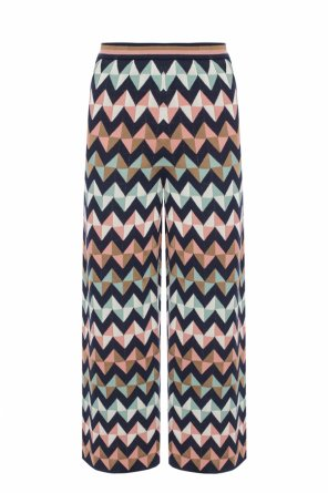 Trousers with geometric pattern od M Missoni