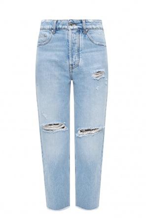 仿旧牛仔裤 od MSGM