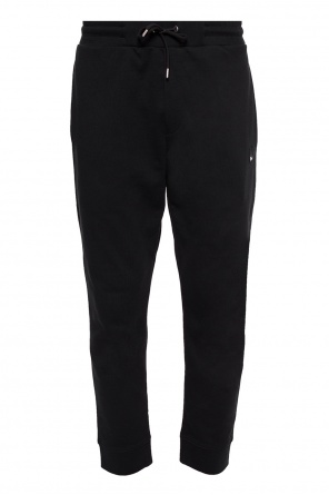 Tracksuit bottoms with a swallow motif od McQ Alexander McQueen