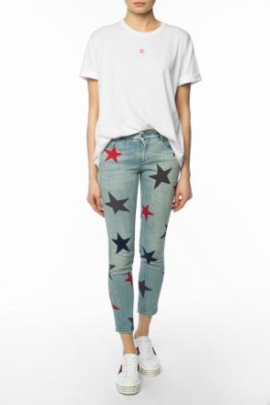 'grazer multicolour star' skinny jeans od Stella McCartney
