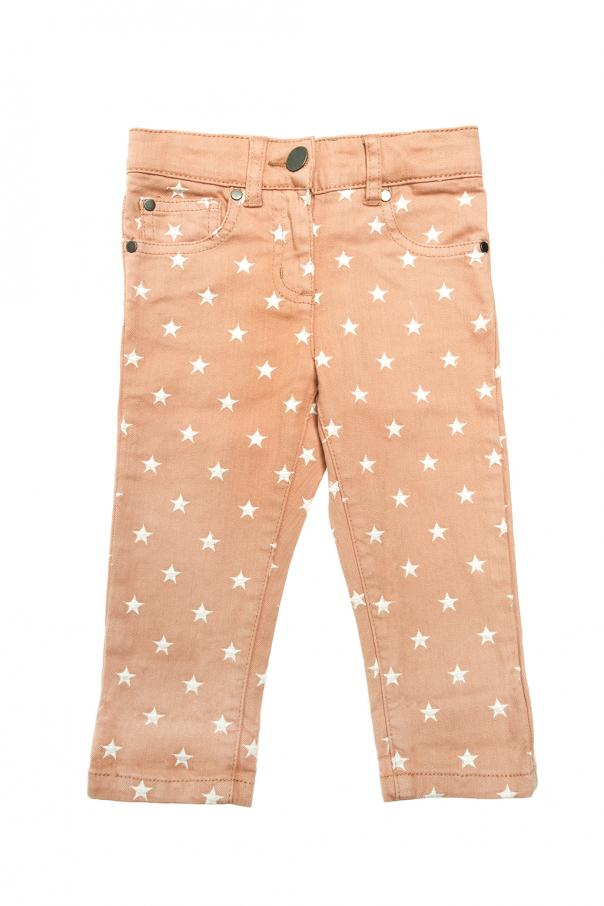 Jeansy z haftem od Stella McCartney Kids