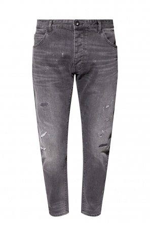 Jeans with worn effect od Emporio Armani
