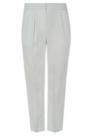 Loose-fit trousers od Emporio Armani