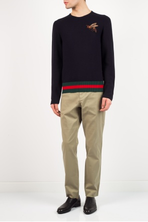 Cotton trousers od Gucci