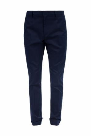 Formal pleat-front trousers od Gucci