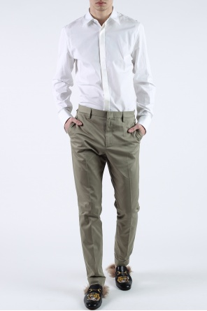 Pleat-front trousers od Gucci