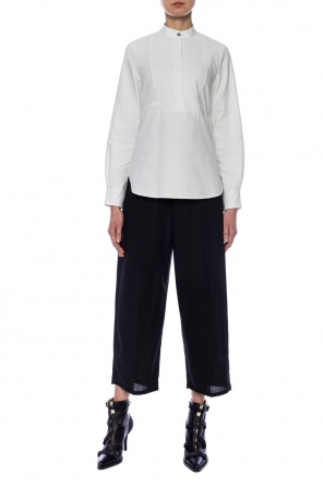 Wool pleat-front trousers od McQ Alexander McQueen