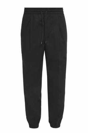 Pleat-front trousers od McQ Alexander McQueen
