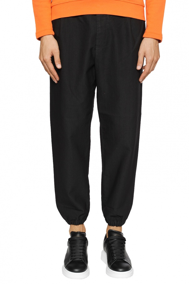 Trousers with elasticated cuffs od McQ Alexander McQueen
