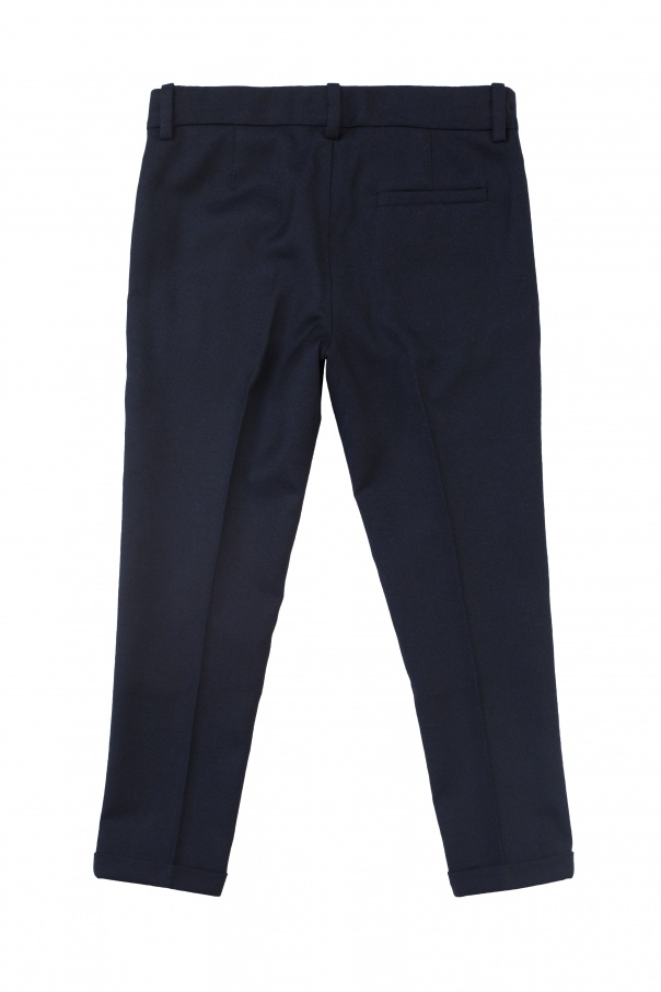 Formal pleat-front trousers od Gucci Kids